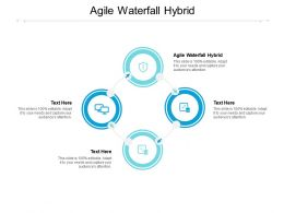 Agile Waterfall Hybrid Ppt Powerpoint Presentation Infographic Template Example File Cpb