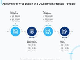 Agreement For Web Design And Development Proposal Template Ppt Powerpoint Graphics