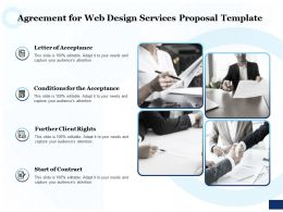 Agreement For Web Design Services Proposal Template Ppt Powerpoint Pictures