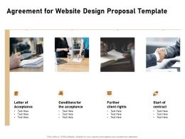 Agreement For Website Design Proposal Template Ppt Powerpoint Infographics