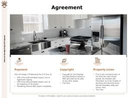 Agreement Payment Ppt Powerpoint Presentation Slides Infographics