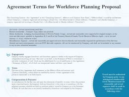 Agreement Terms For Workforce Planning Proposal Ppt Powerpoint Graphics