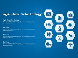 Agricultural Biotechnology Ppt Powerpoint Presentation Ideas Design Templates