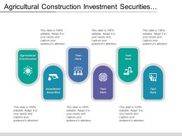 Agricultural Construction Investment Securities Aviation Aerospace Travel Tourism