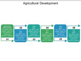 Agricultural Development Ppt Powerpoint Presentation Summary Shapes Cpb