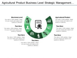 Agricultural Product Business Level Strategic Management Defining Strategy