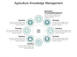 Agriculture Knowledge Management Ppt Powerpoint Pictures Background Designs Cpb