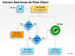 Ah Circles And Icons In Flow Chart Powerpoint Templets