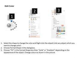 13658962 Style Circular Semi 8 Piece Powerpoint Presentation Diagram Infographic Slide