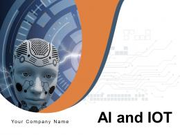 AI And IOT Processor Operation Business Technology Information Finance