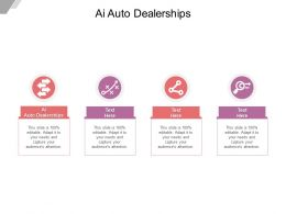 AI Auto Dealerships Ppt Powerpoint Presentation Gallery Introduction Cpb