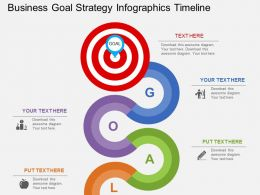 ai Business Goal Strategy Infographics Timeline Flat Powerpoint Design