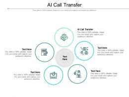 AI Call Transfer Ppt Powerpoint Presentation Slides Example File Cpb
