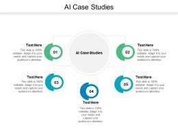AI Case Studies Ppt Powerpoint Presentation Inspiration Mockup Cpb