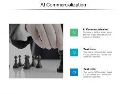AI Commercialization Ppt Powerpoint Presentation Portfolio Grid Cpb