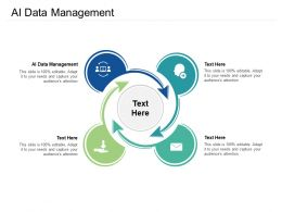 AI Data Management Ppt Powerpoint Presentation Infographics Example Introduction Cpb