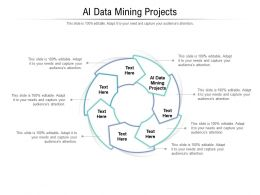 AI Data Mining Projects Ppt Powerpoint Presentation Inspiration Clipart Cpb