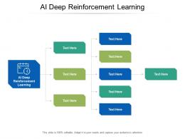 AI Deep Reinforcement Learning Ppt Powerpoint Presentation Layouts Rules Cpb