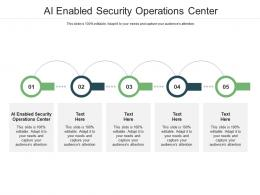 AI Enabled Security Operations Center Ppt Powerpoint Presentation Portfolio Microsoft Cpb