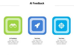 AI Feedback Ppt Powerpoint Presentation Professional Guidelines Cpb