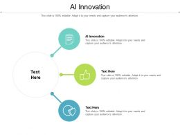 Ai Innovation Ppt Powerpoint Presentation Slides Inspiration Cpb