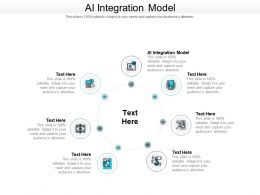 AI Integration Model Ppt Powerpoint Presentation Ideas Vector Cpb