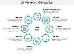 AI Marketing Companies Ppt Powerpoint Presentation Diagram Templates Cpb