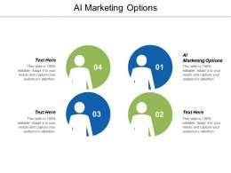 AI Marketing Options Ppt Powerpoint Presentation Icon Example Introduction Cpb