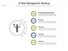 AI Risk Management Banking Ppt Powerpoint Presentation Model Professional Cpb