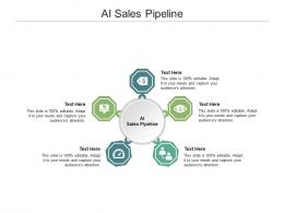 AI Sales Pipeline Ppt Powerpoint Presentation Infographics Show Cpb