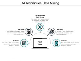 AI Techniques Data Mining Ppt Powerpoint Presentation Outline Ideas Cpb