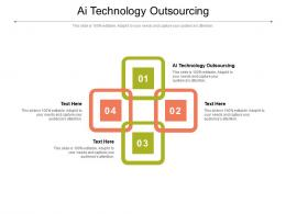 AI Technology Outsourcing Ppt Powerpoint Presentation Styles Slides Cpb