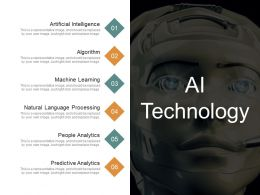 Ai Technology Sample Of Ppt