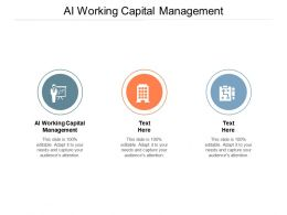 AI Working Capital Management Ppt Powerpoint Presentation Gallery Graphics Template Cpb