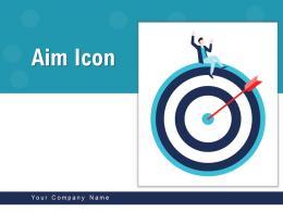 Aim Icon Business Achievement Financial Collaboartive Arrow Circles
