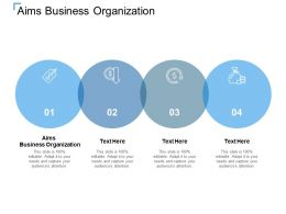 Aims Business Organization Ppt Powerpoint Presentation Layouts Example File Cpb
