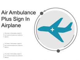 Air Ambulance Plus Sign In Airplane