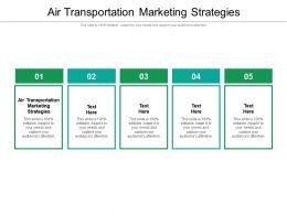 Air Cargo Marketing Plan Ppt Powerpoint Presentation Outline Show Cpb