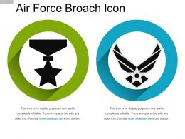 Air Force Broach Icon