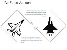 Air Force Jet Icon