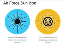 Air Force Sun Icon