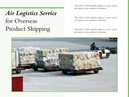 Air Logistics Service For Overseas Product Shipping