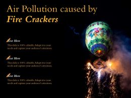 Air Pollution Caused By Fire Crackers