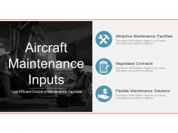 Aircraft Maintenance Inputs Powerpoint Images