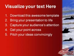 Airforce Americana PowerPoint Template 1010  Presentation Themes and Graphics Slide02