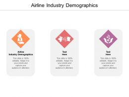 Airline Industry Demographics Ppt Powerpoint Presentation Infographic Template Slide Download Cpb