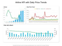 Airline KPI With Daily Price Trends