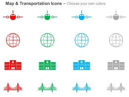 airplane_location_hospital_bridge_ppt_icons_graphics_Slide02