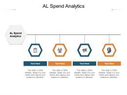 AL Spend Analytics Ppt Powerpoint Presentation File Graphics Design Cpb