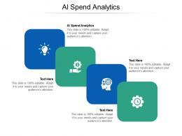 AL Spend Analytics Ppt Powerpoint Presentation Good Cpb
